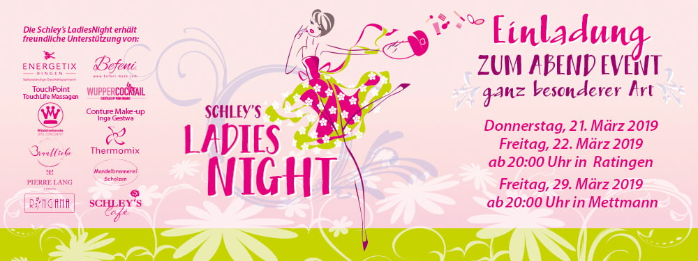 Ladies Night bei Schley's Blumenparadies in Ratingen & Mettmann